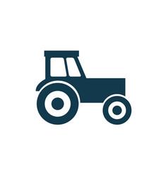 tractor icon tractor concept symbol design vector image