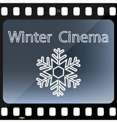 Winter Cinema vector