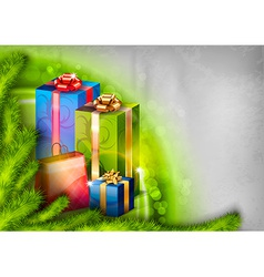 Abstract Christmas vector image