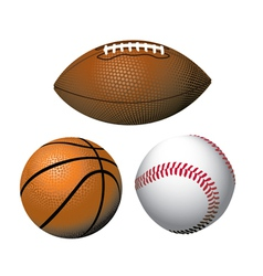 sports equipment vector image