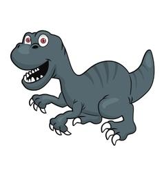 Cute velociraptor or raptor dinosaur vector image