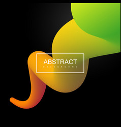 Abstract 3d colorful stripe vector