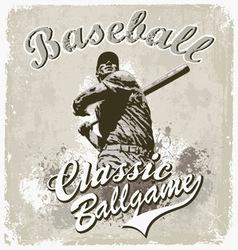 Baseball classic vector