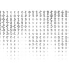 binary code streaming decryption and encryption vector image