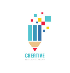 creative idea inspiration - concept logo template vector image