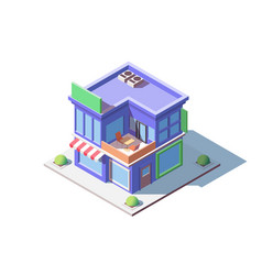 family store building vector image