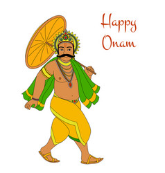 happy oman vector image