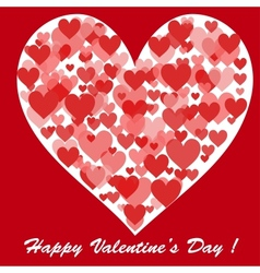 happy valentines day card for your design vector image