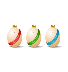 Miss eggs vector image