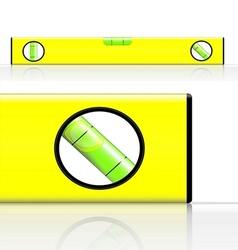 spirit level vector image