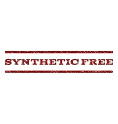 Synthetic Free Watermark Stamp vector