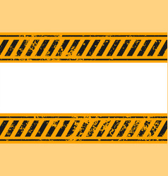 Warning style yellow and black stripes background vector