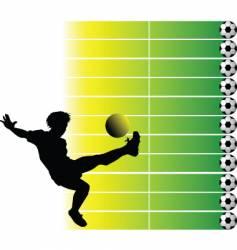 soccer final vector image