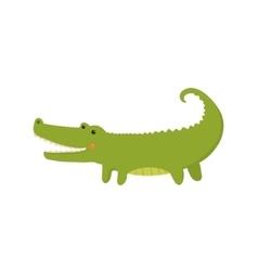 Crocodile Realistic Childish vector image vector image