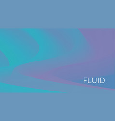 abstract fluid wavy background vector image