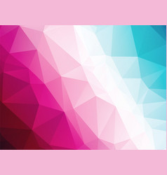 abstract geometric blue white red triangular vector image