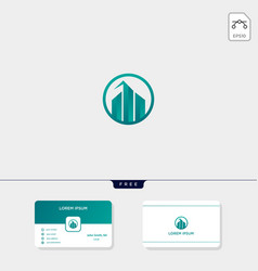 accounting finance chart or real estate apartment vector image