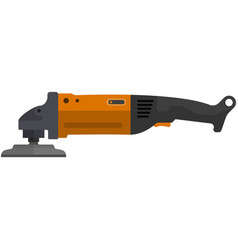 Angle grinder icon isolated on white vector