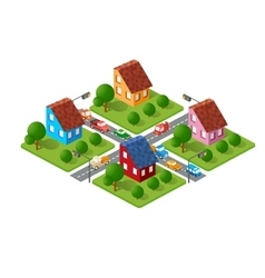Large set of isometric vector
