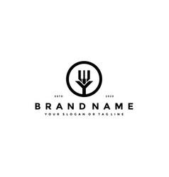 Letter y piano logo design vector