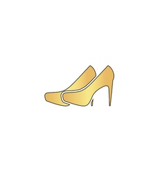 Shoes computer symbol vector