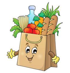 Shopping bag theme image 1 vector