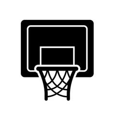 Basket basketball isolated icon vector