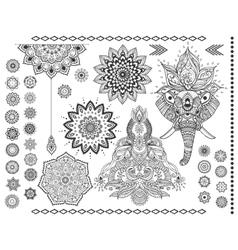 beautiful card vector image