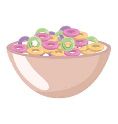 Delicious tasty food cartoon vector