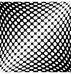 Design monochrome dots background vector image