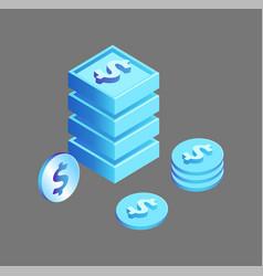 Dollar american currency vector