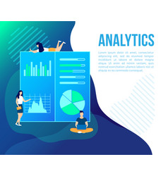 Finance strategy analytic project start up vector