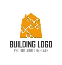 Logo pattern construction vector