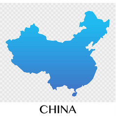 map in asia continent design vector image
