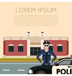 Police department banner5 vector