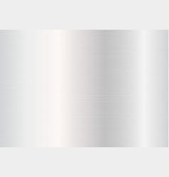 Silver metal plate vector