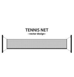 Tennis net vector