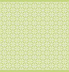 white and green tile pattern vector image vector image