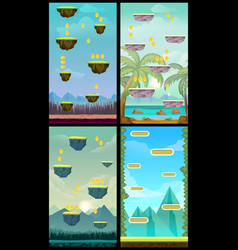 Game background vertical tileable wallpaper for vector