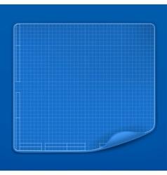 Blueprint vector image vector image