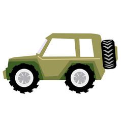 off-road car vector image