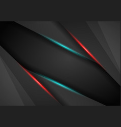 abstract background metallic red and blue light vector image