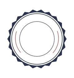 Badge sticker or emblem icon vector