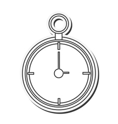 Clock antique time design vector