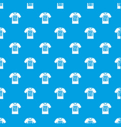electronic t-shirt pattern seamless blue vector image