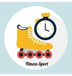 Fitness sport vector