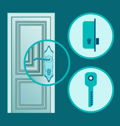 Handle installation vector