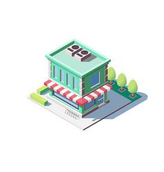 Modern family shop vector