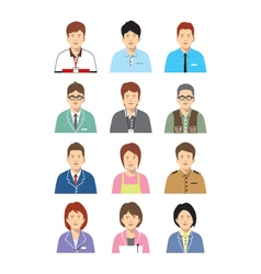 People set vector