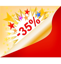 Sale promotion sticker vector